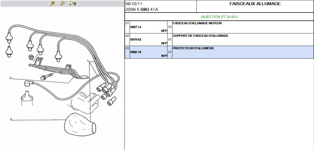 [73] 205 GTI 1L9 - 122cv - AM93 - Blanc Banquise - Page 2 Faisce10