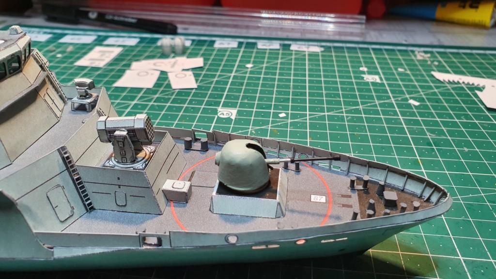 Korvette OLDENBURG, Kl. K130 Bundesmarine, Passat(vergr)1:200 gebaut von Bear58 - Seite 2 20191138