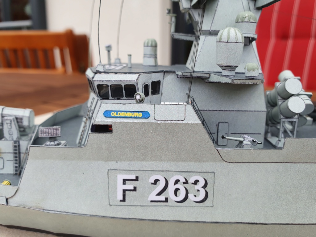 Korvette Klasse 130 OLDENBURG (FGS F 263) gebaut von Bear58 20200124