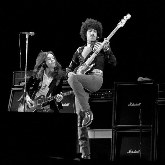 THIN LIZZY AVEC GARY MOORE, retrouvailles entre amis  11846510