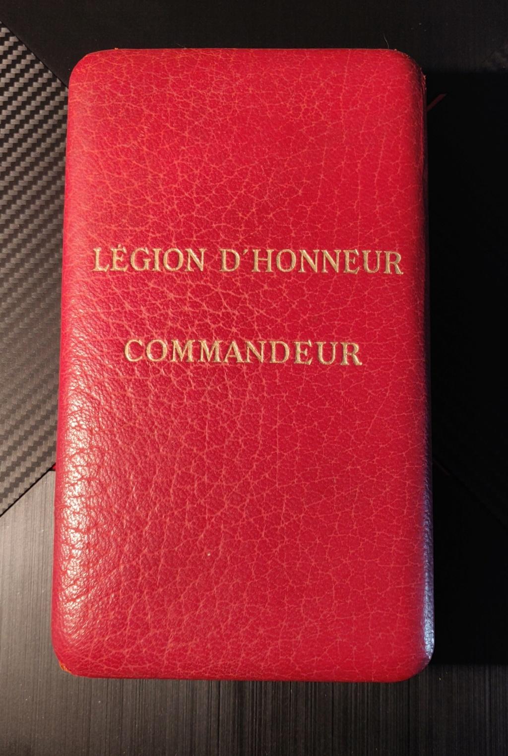 Légion d'honneur commandeur  Img_2068