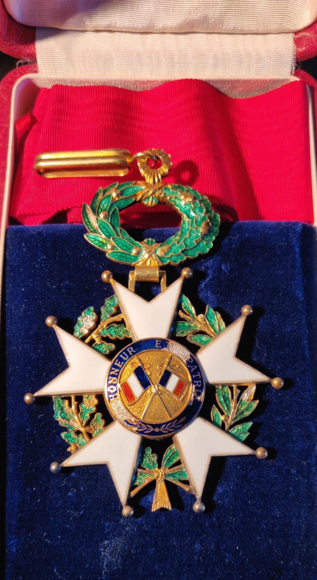 Légion d'honneur commandeur  Img_2072