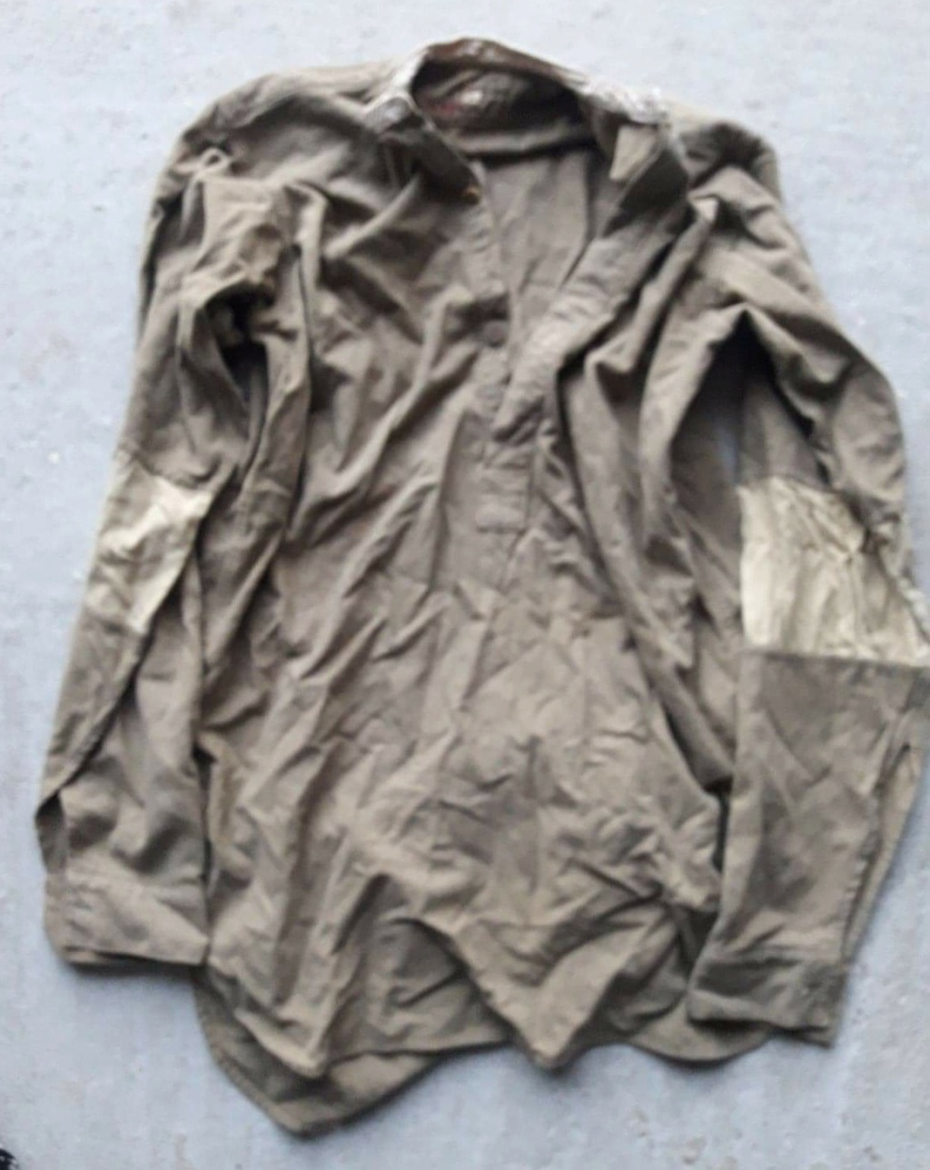 Chemise troupe anglaise seconde guerre ? Receiv20
