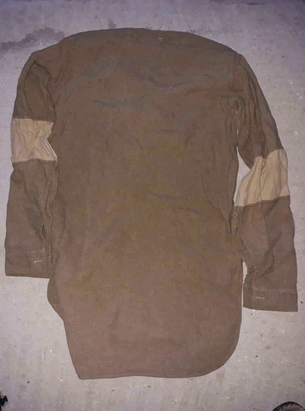 Chemise troupe anglaise seconde guerre ? Receiv26