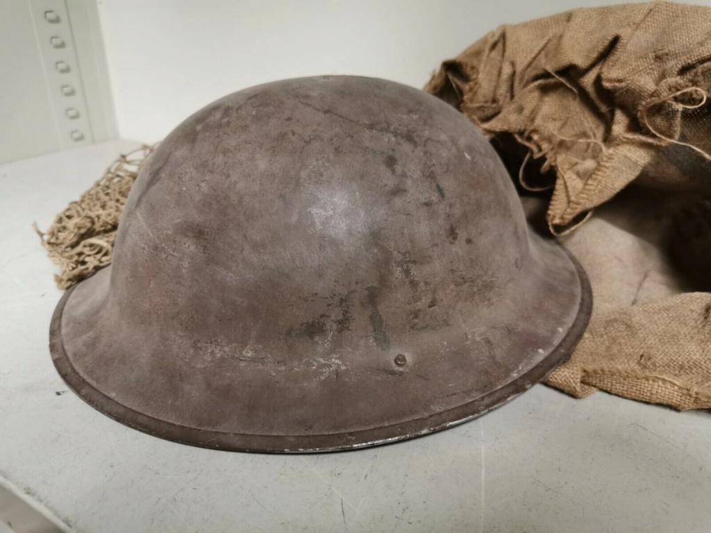 casque brodie filet seconde guerre un peu spécial S-l16029