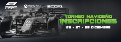 [Xbox One] Inscripciones Torneo Navideño F1 2019 Banner11