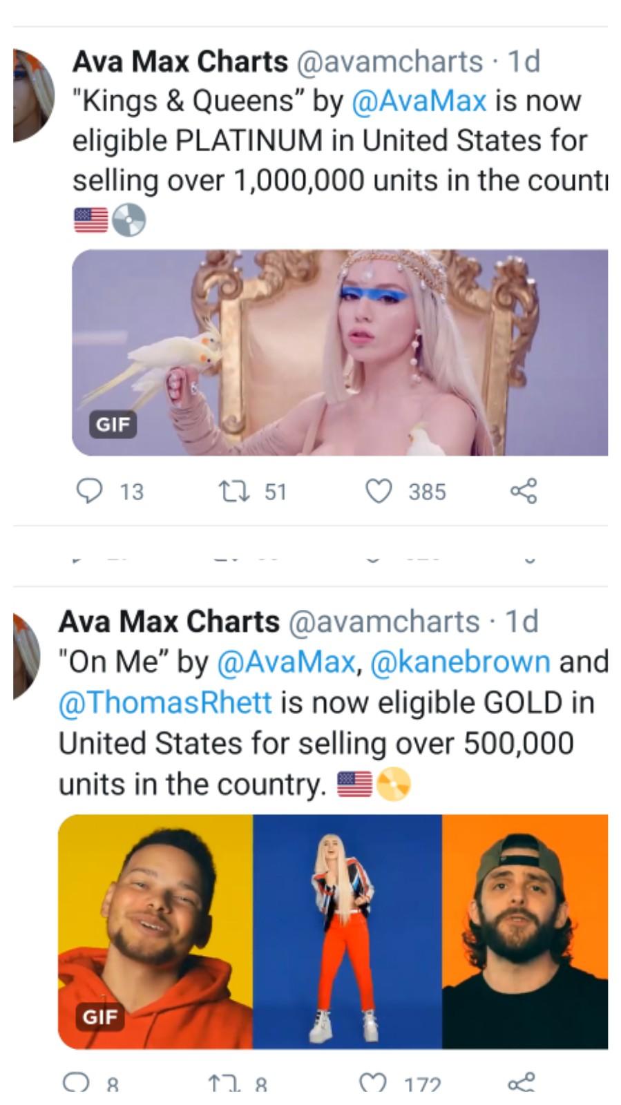 """Ava Max >> álbum """"Heaven & Hell"""" - Página 16 16043410"""