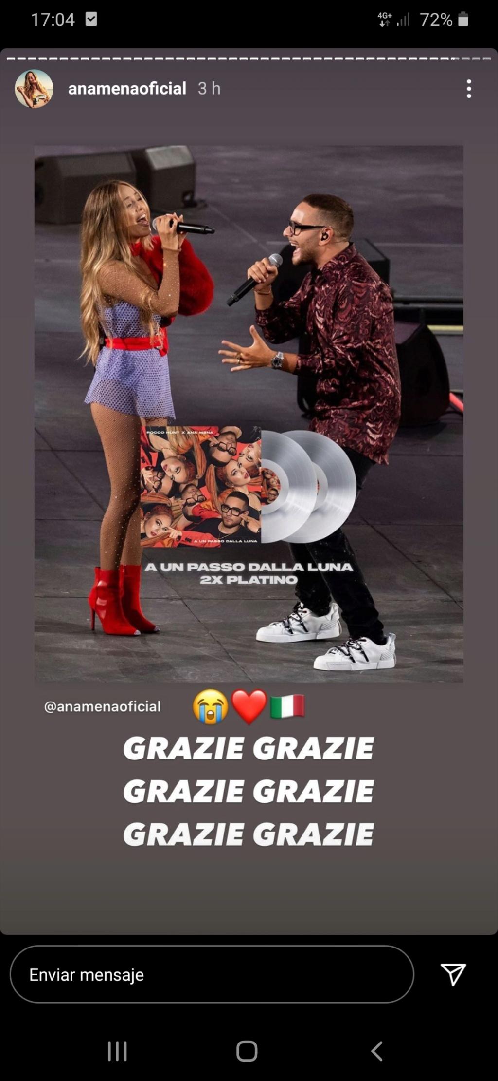 "Ana Mena >> Single ""A un passo dalla luna (Feat. Rocco Hunt)"" - Página 23 Screen14"
