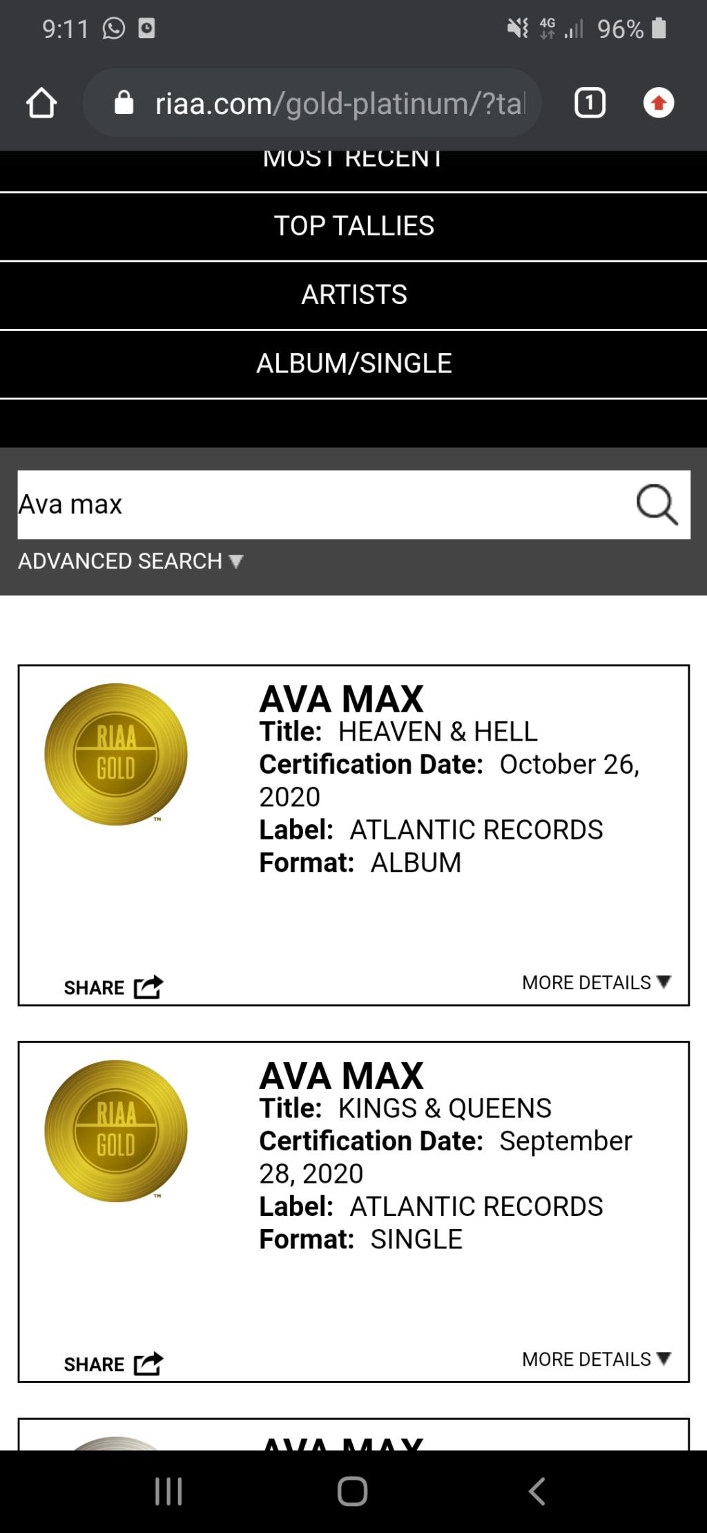 "Ava Max >> álbum ""Heaven & Hell"" - Página 16 Screen18"