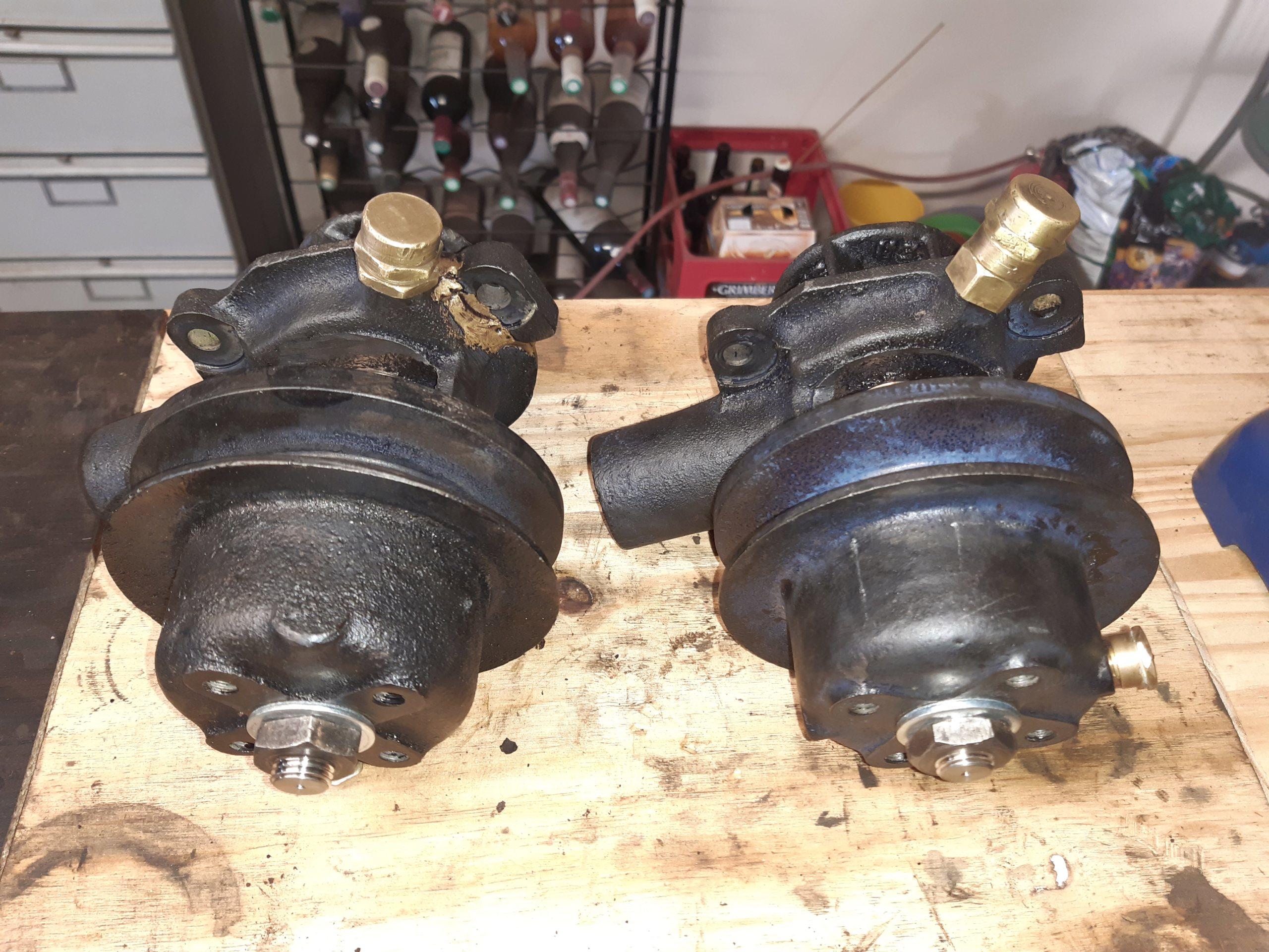 Pompe à eau C6F modifiée 20200311
