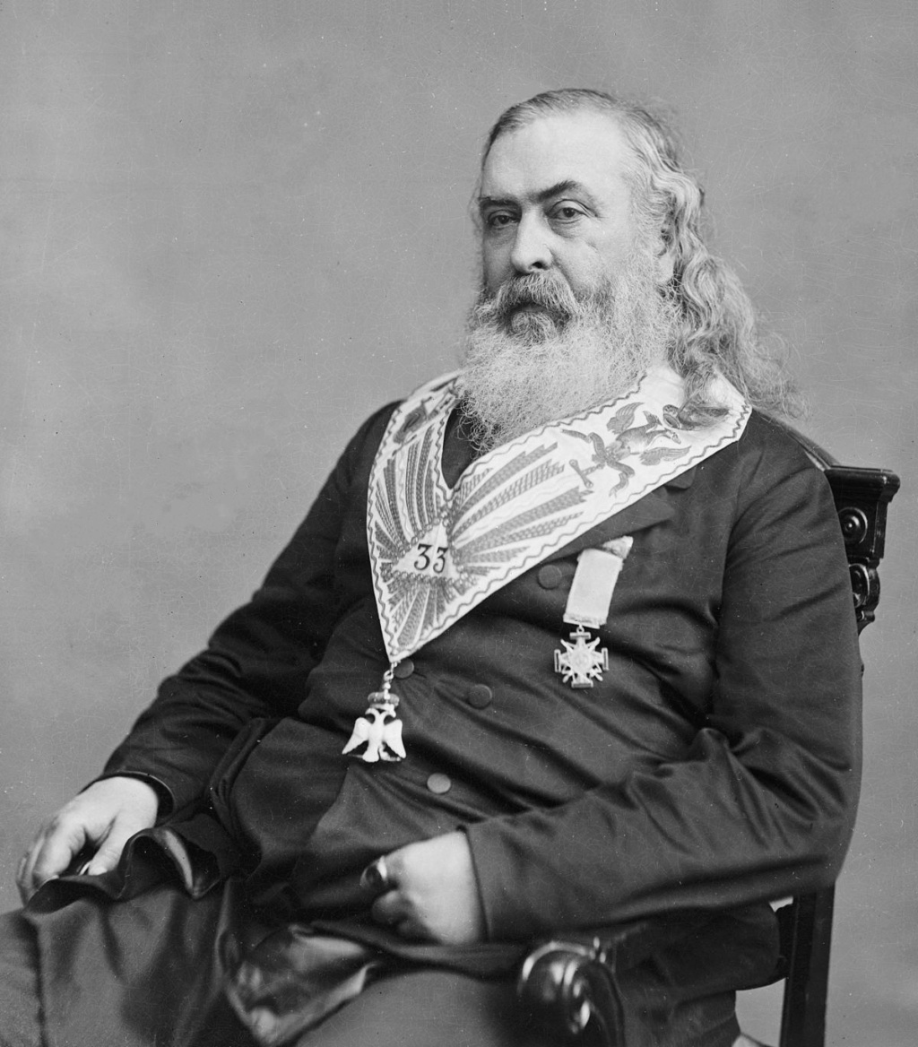Albert Pike, Magjistari i madh i Illuminatit Albert10