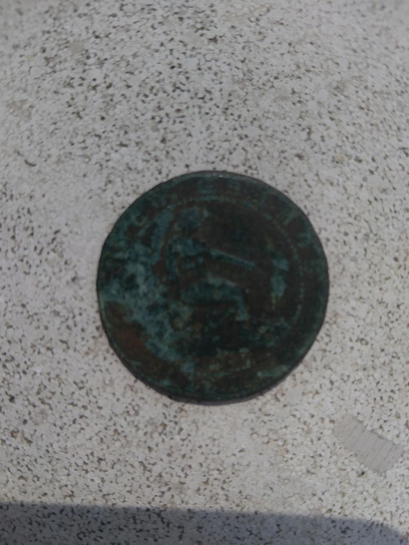 5 céntimos 1870. Gobierno Provisional Peque10