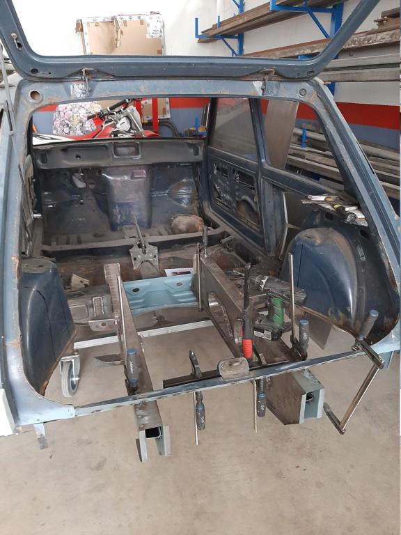 Costruzione Renault 5 tour de corse replica  20201015