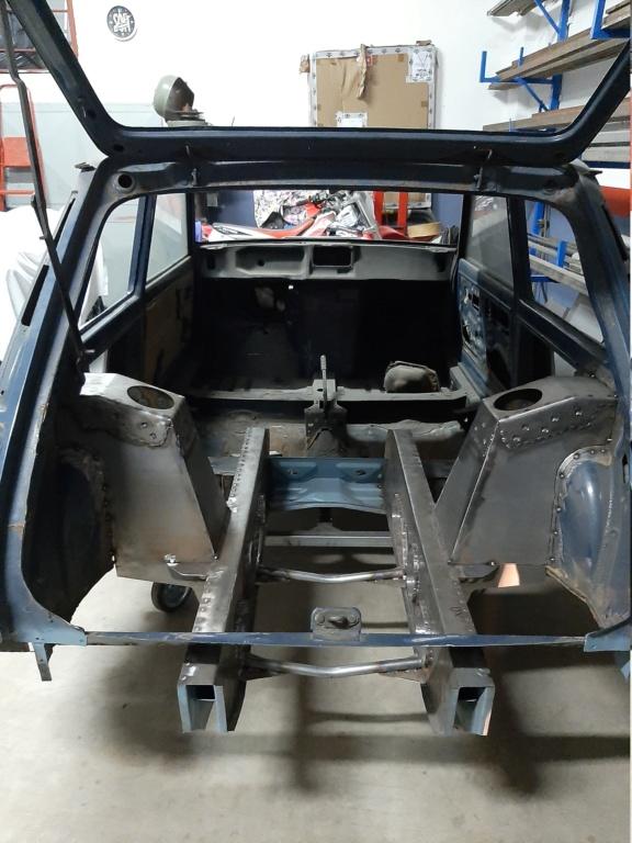 Costruzione Renault 5 tour de corse replica  20201017