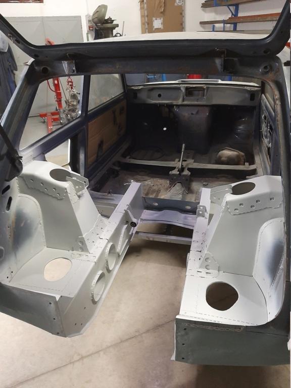 Costruzione Renault 5 tour de corse replica  20201112