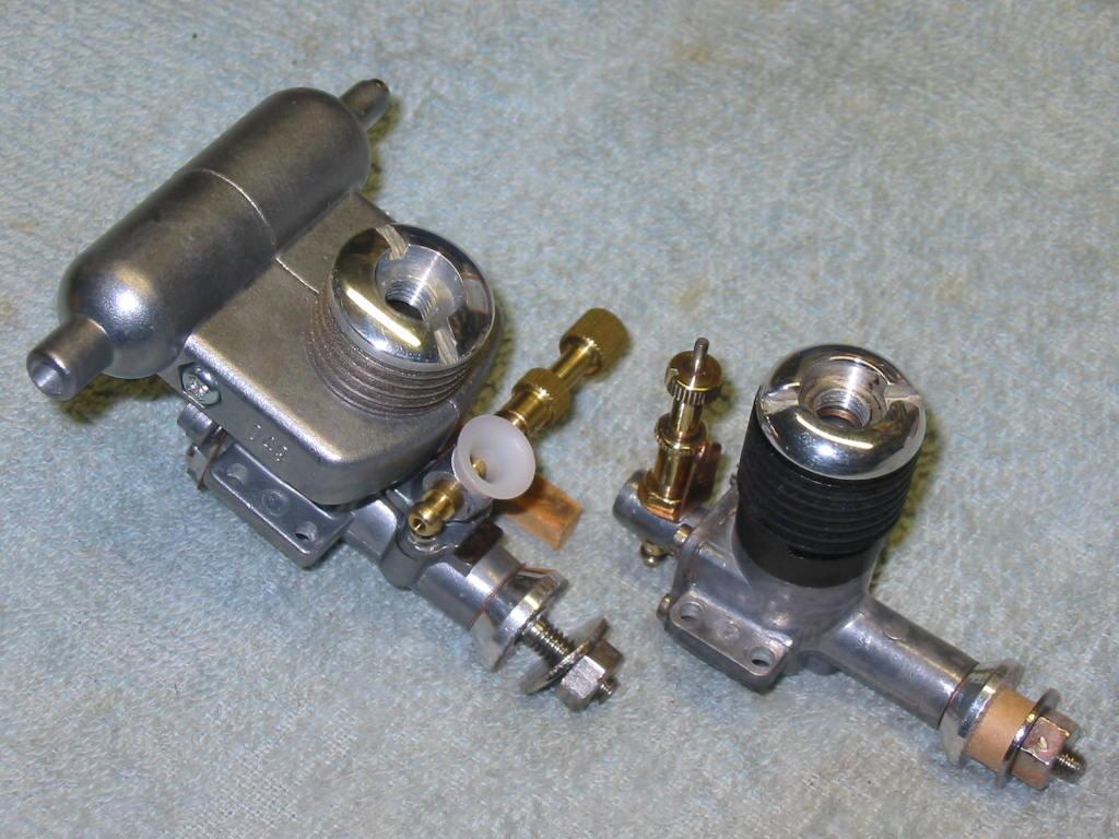 "Refurbishing Enya 049 / 06 / and ""one"" .10 engines from ""junk"" status 01-ref10"