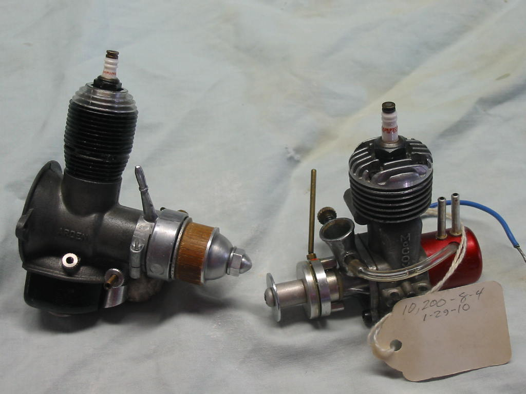 Friend gave me Two Spark Ignition Engines -- Converted 01_ard10