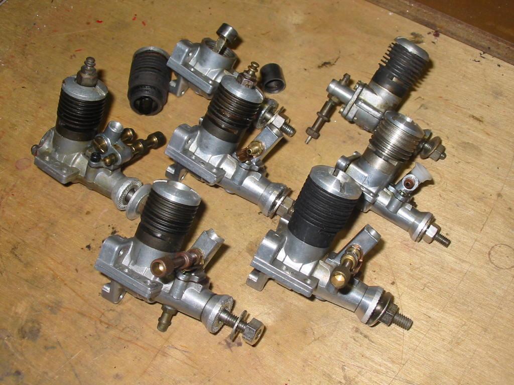 "Refurbishing Enya 049 / 06 / and ""one"" .10 engines from ""junk"" status 06_eny10"