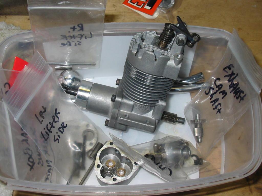 "Refurbishing Enya 049 / 06 / and ""one"" .10 engines from ""junk"" status 40-4c_10"
