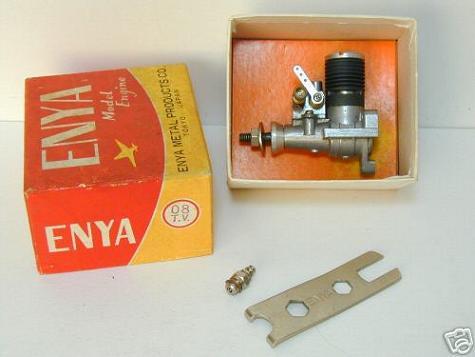 Enya .049 / .06 / .08 and .10 ---- made for Japan (family). Enya_046