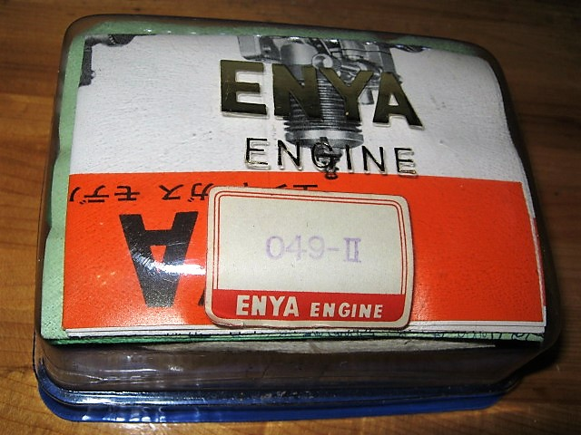 Picked up these engines from Etsy --- Rare Cox .10 engine? Enya_085