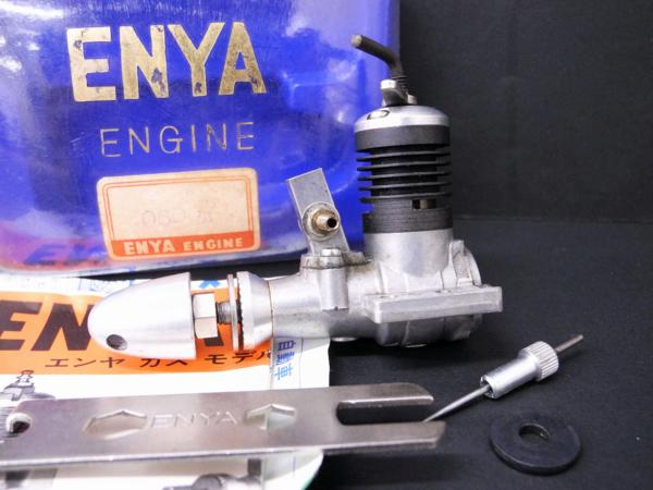 Picked up these engines from Etsy --- Rare Cox .10 engine? Enya_088