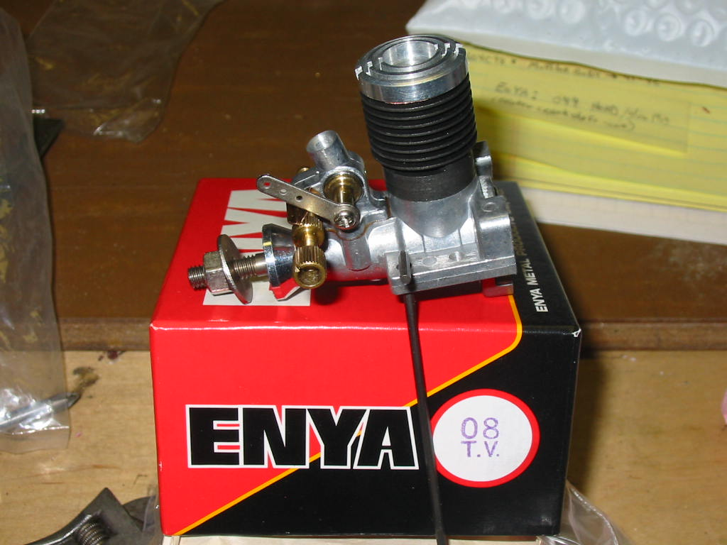 Picked up these engines from Etsy --- Rare Cox .10 engine? Enya_091