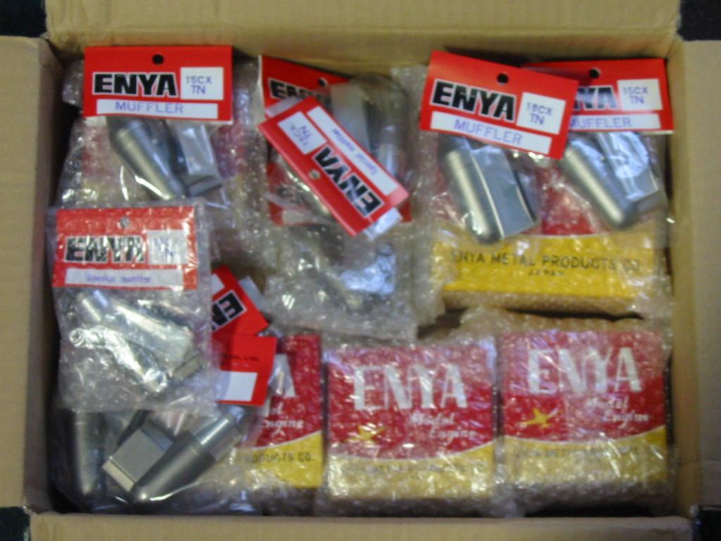 Last of the Enya Diesel engines purchased off of Enya's website. Enya_o10