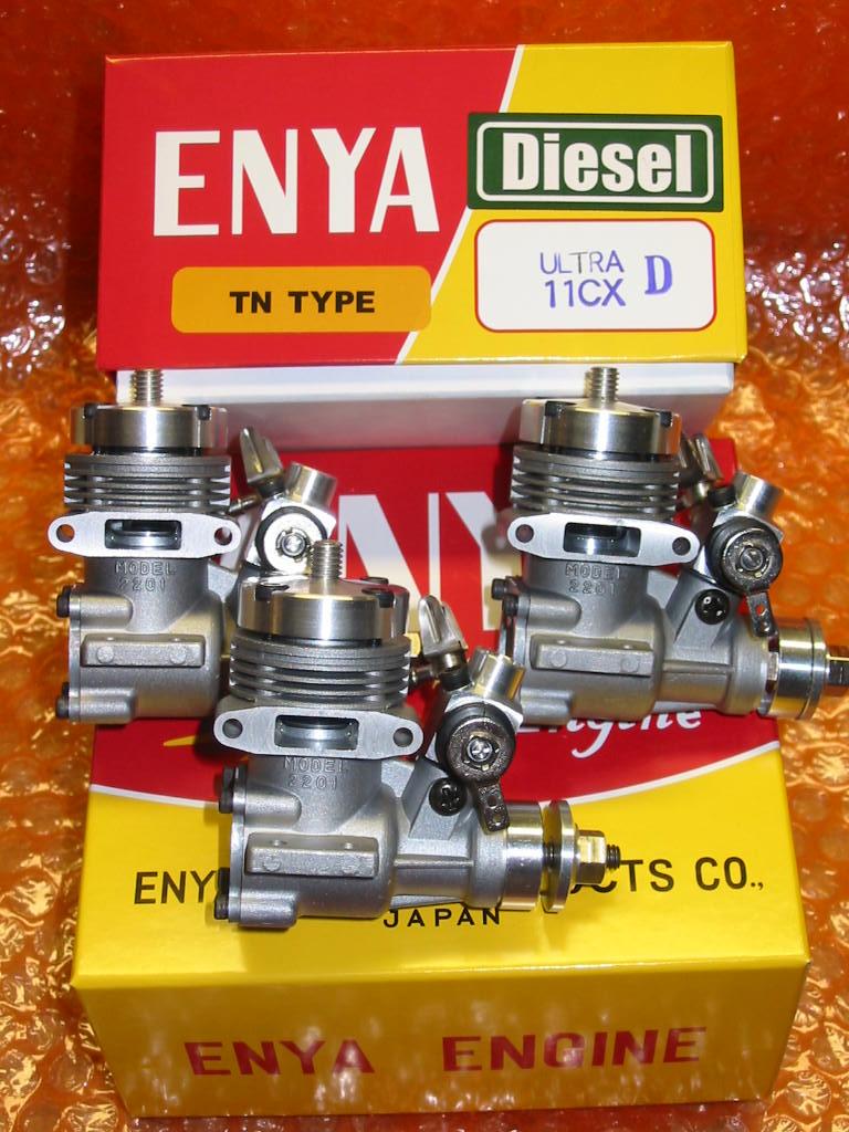 Last of the Enya Diesel engines purchased off of Enya's website. Enya_u10
