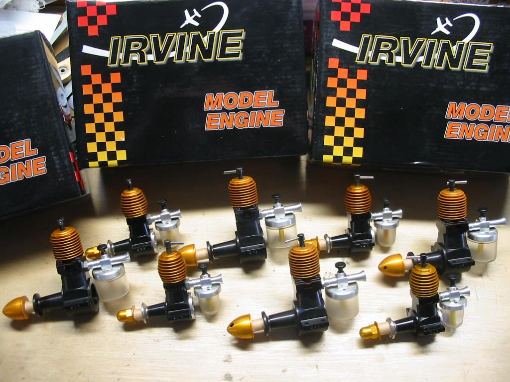 """Pretty"" engines Irvine17"