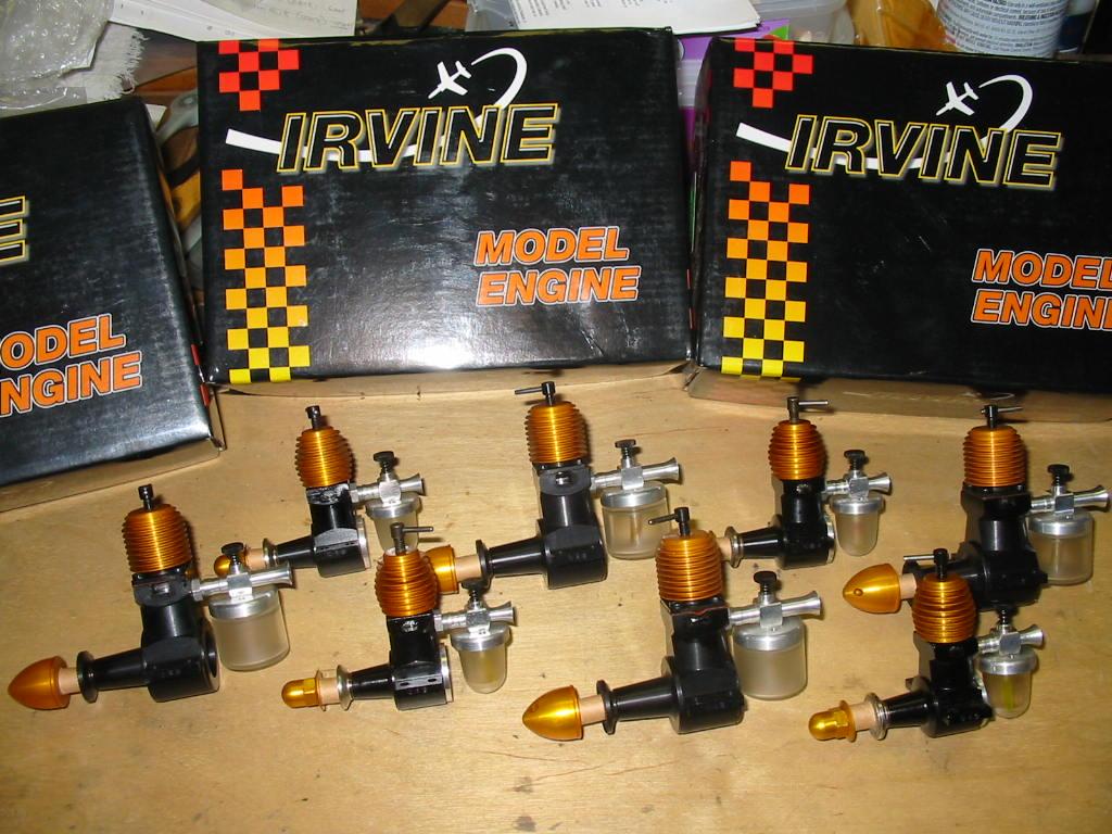 """Pretty"" engines Irvine18"