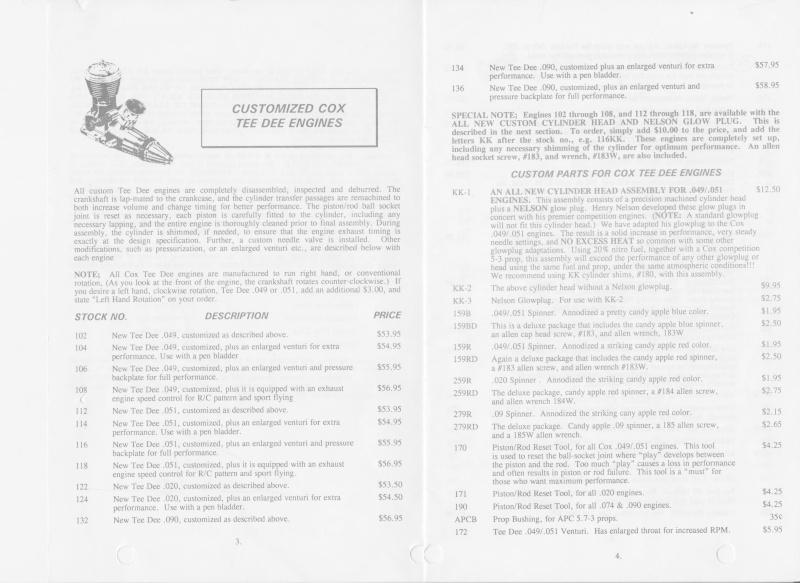 Cox Tee Dee R/C .051 from Kustom Kraftsmanship Kk_3-410