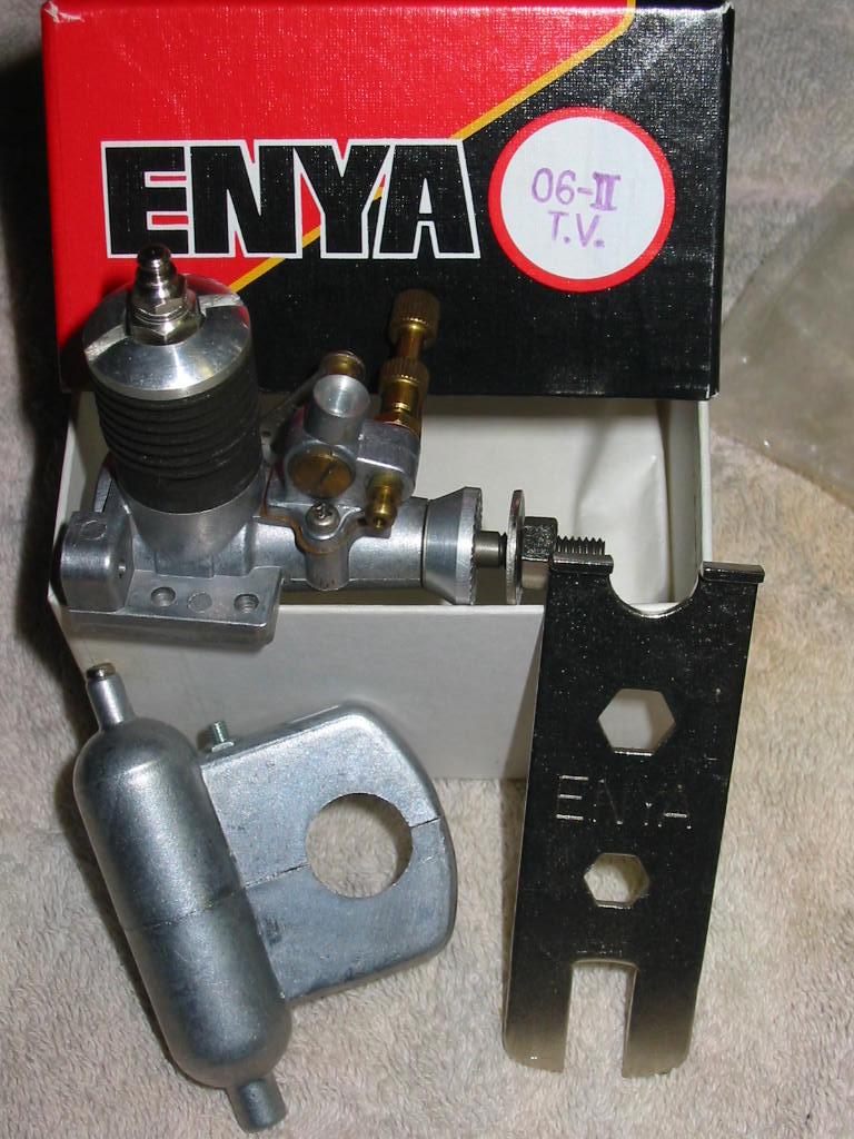 Enya 06 11 Stunter glow engine crank/prop nut help. Nib-en11