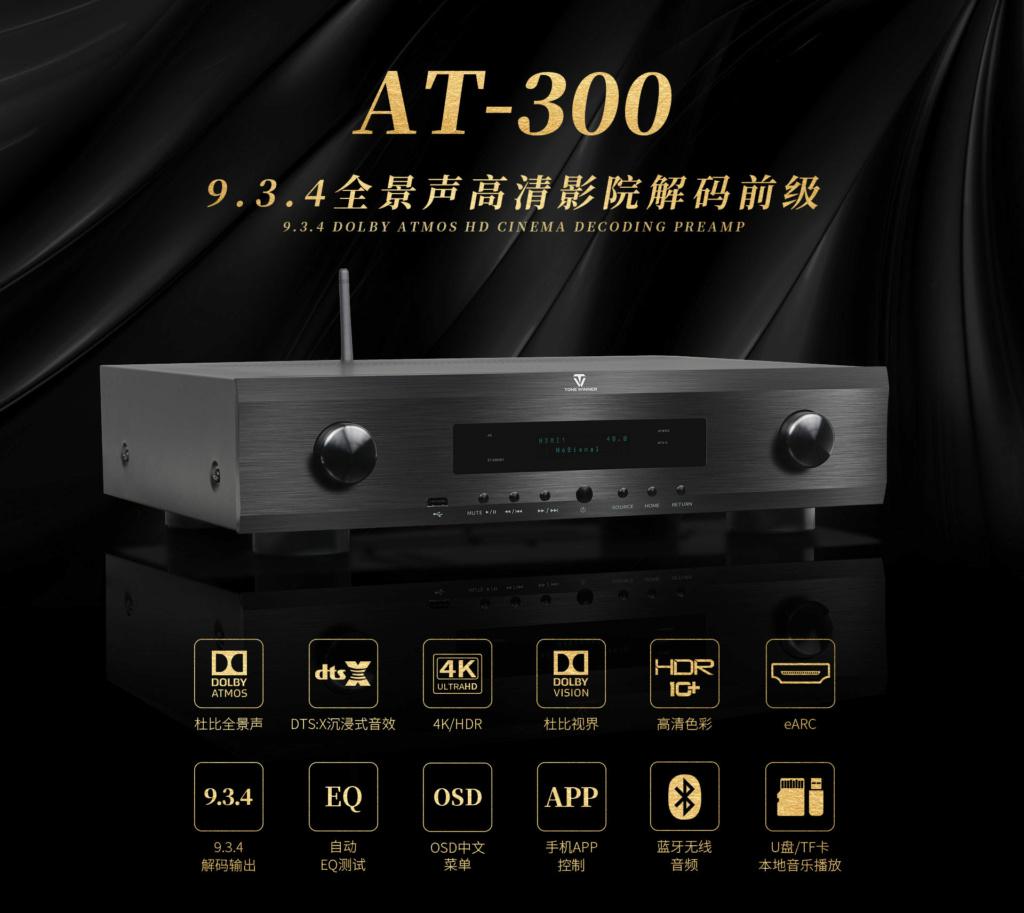 ToneWinner AT-300 Cinema Processor 15500412