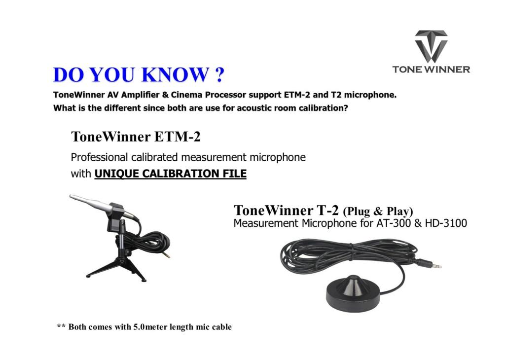 ToneWinner AT-300 Cinema Processor Etm210