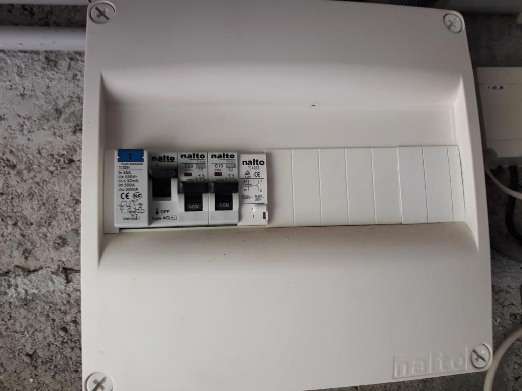 Conseil installation Green-Up sur tableau garage 20200613