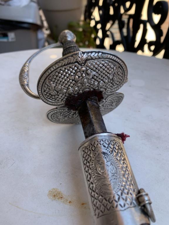 Épée de cour 18ème  3427b910