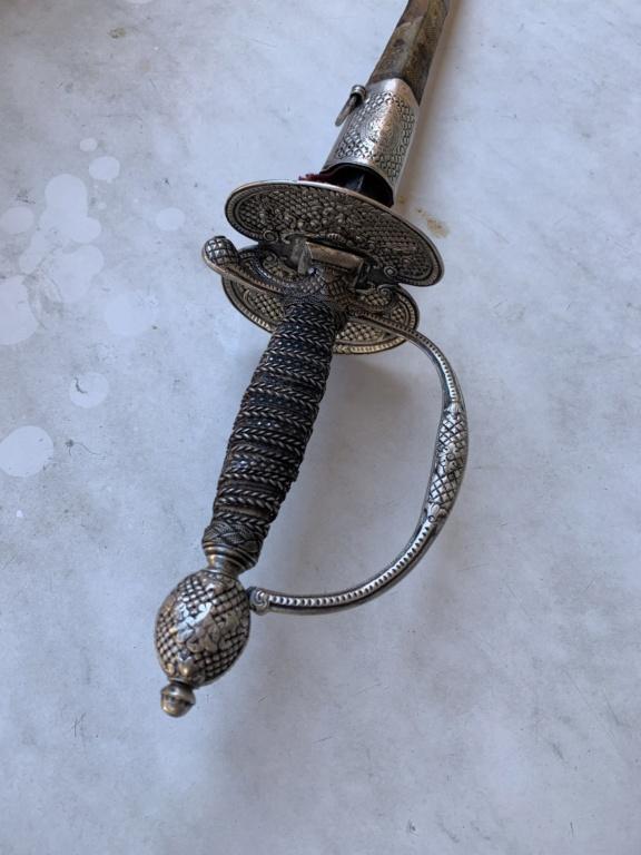Épée de cour 18ème  8374f810