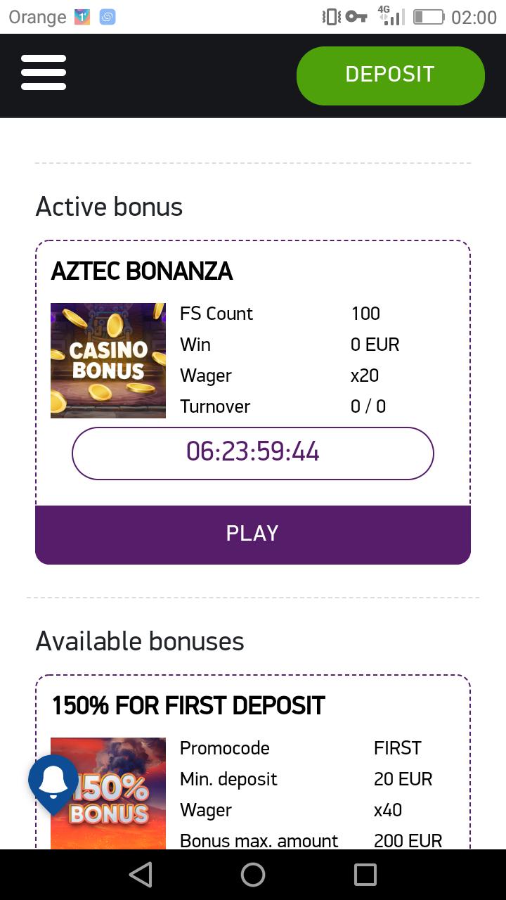 Bonanza Game Casino - darmowe promocje - Page 3 Screen23