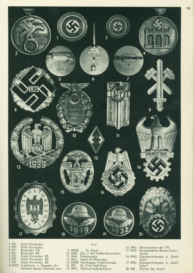 """Médaille de l'Ordre du Sang """"Blutorden"""" Klietm16"""