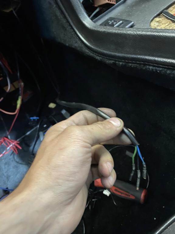 Early 944 under dash wire identification help B25f2810