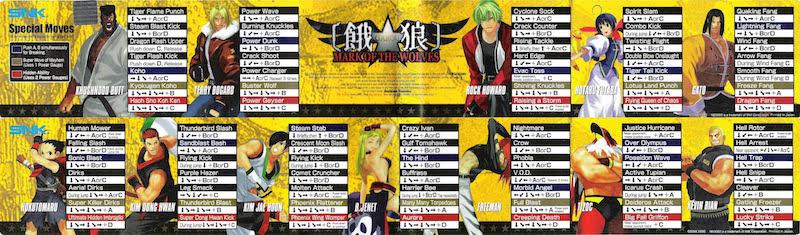 Centralisation des Moves Listes des Vs Fighting Neo Geo - Page 3 14699510