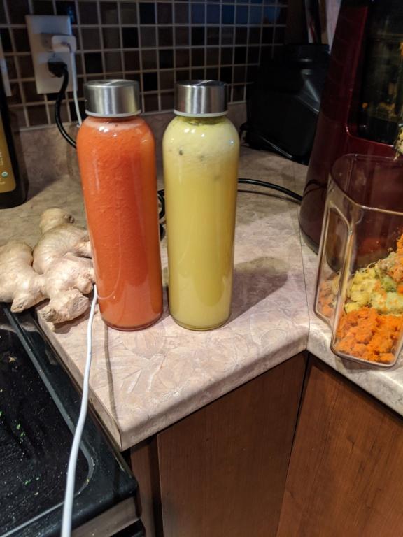 Celeri, betterave, gingembre, menthe,pomme, citron.. Img_2010