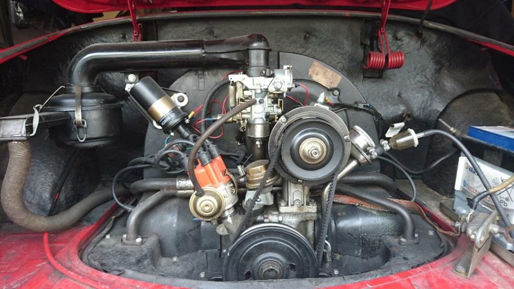 Karmann Ghia 1960 ! Me voici ! Moteur10