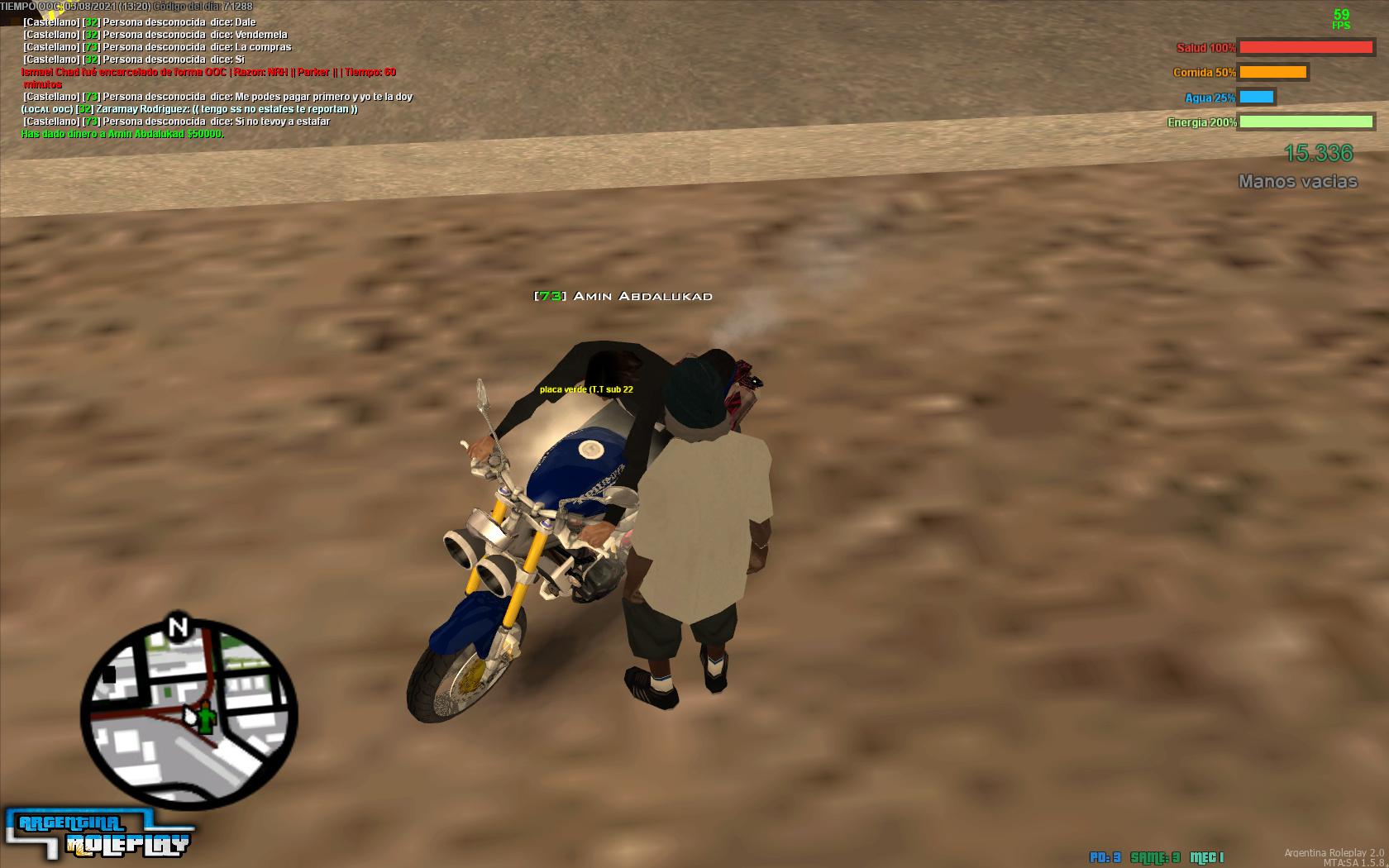 [REPORTE] Me estafaron sin spec en la compra de una moto (Amin Abdalukad)  Imagen10