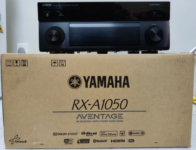 Yamaha AVENTAGE RX-A1050 7.2ch AV Receiver with Dolby Atmos, DTS:X, 4K Ultra HD (SOLD) Img_2011