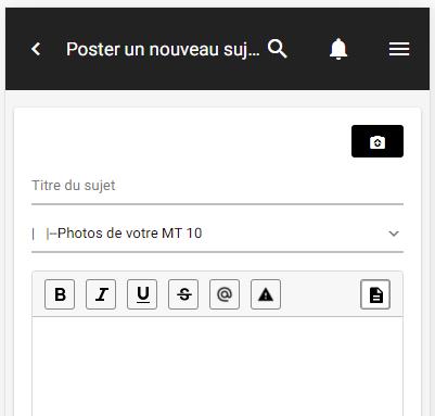 """Nouveauté : Editeur """"light"""" pour la version mobile Editeu10"""