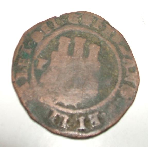 2 maravedies Reyes Cátolicos (Toledo, 1474 - 1504 d.c) A10
