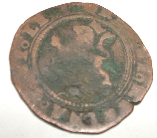2 maravedies Reyes Cátolicos (Toledo, 1474 - 1504 d.c) B10