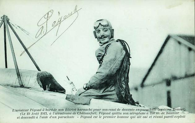 Célestin Adolphe Pégoud : As de l'aviation, gentleman et héros de la 1ère guerre 11746310